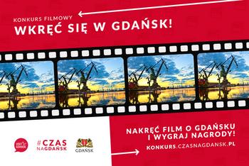 Wkręć się w Gdańsk! Filmowy konkurs z atrakcyjnymi nagrodami