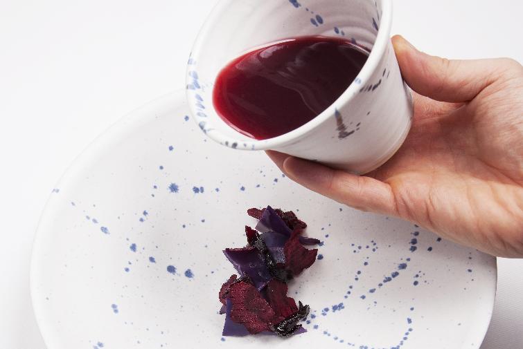 Hibiskus borscht