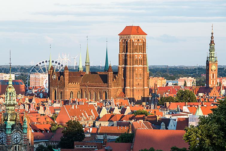 Гданьск- более 1000 лет истории одного города