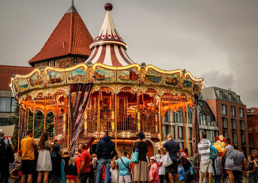 Karusellen i Gdansk