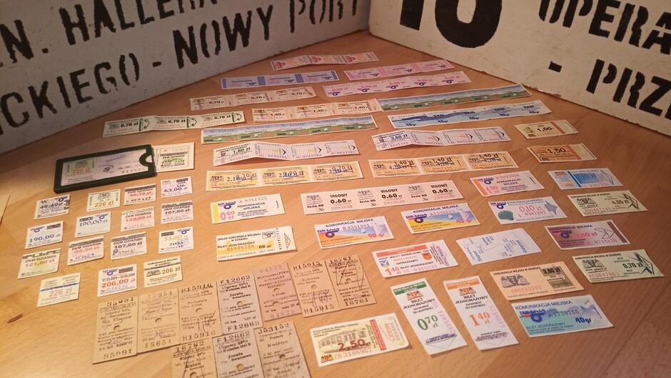 Kolekcja biletów
