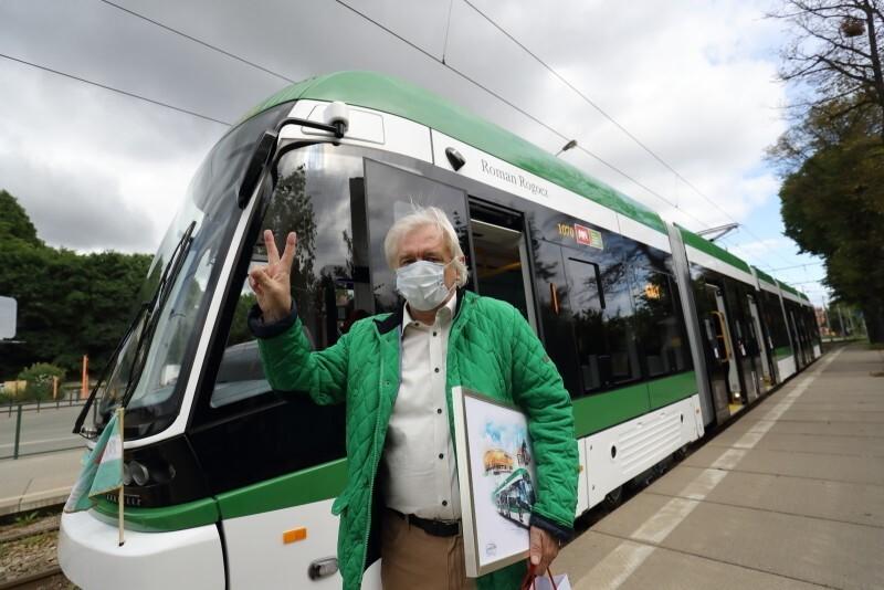 Andrzej Rogocz, syn patrona tramwaju