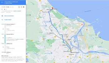 Z Map Google dowiesz się, ile potrwa podróż komunikacją miejską w Gdańsku i gdzie są biletomaty